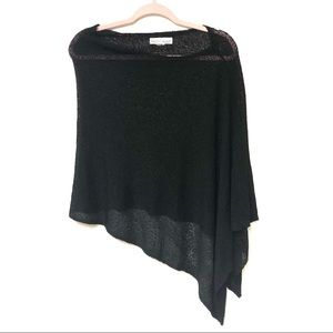 White House Black Market Poncho Shawl